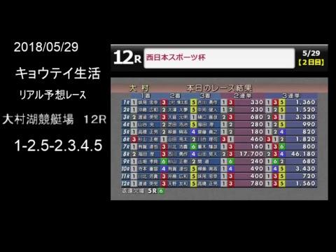 予想 大村 12 レース