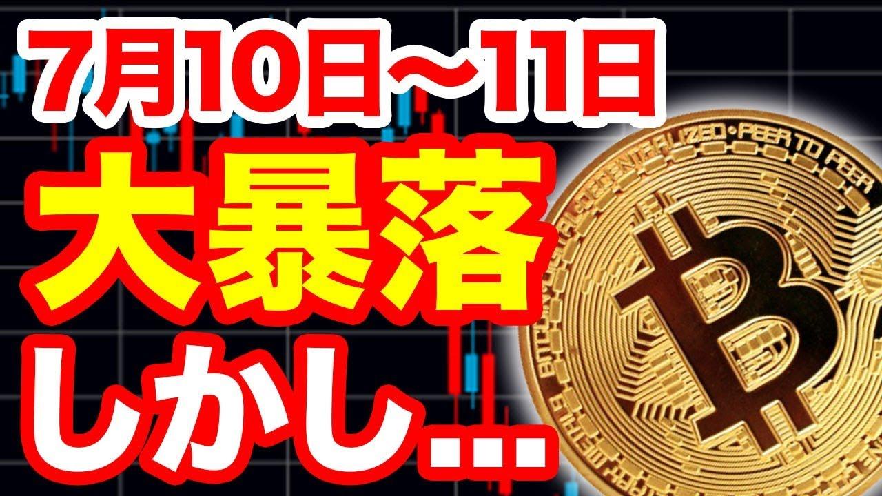 【速報】仮想通貨ビットコイン大暴落、68,BTCの大規模ロスカット